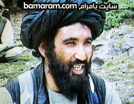 ملااختر منصور رهبر طالبان در ایران