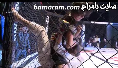 فیلم ضرب و شتم دختر ایرانی در قفس در ارمنستان