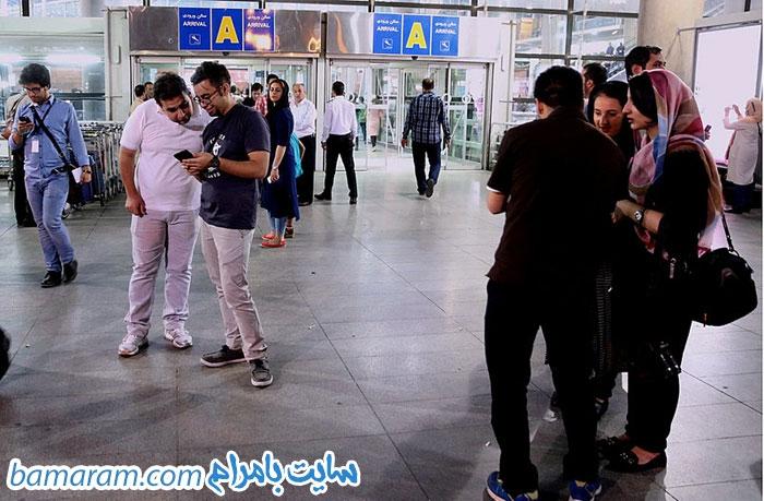 استقبال از ترانه علیدوستی اصغر فرهادی شهاب حسینی عوامل فیلم فروشنده برنده جشنواره کن