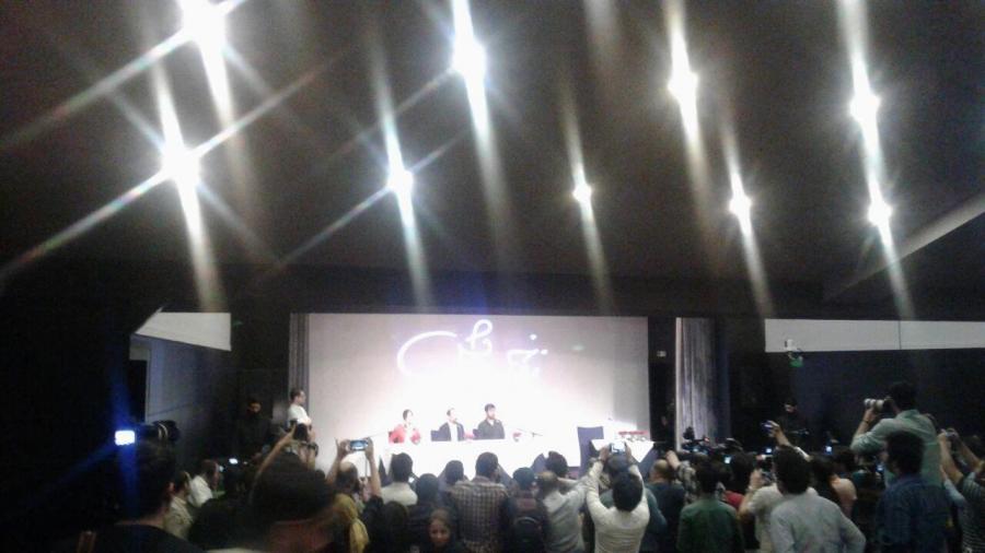نشست خبری فروشنده ترانه علیدوستی شهاب حسینی اصغر فرهادی