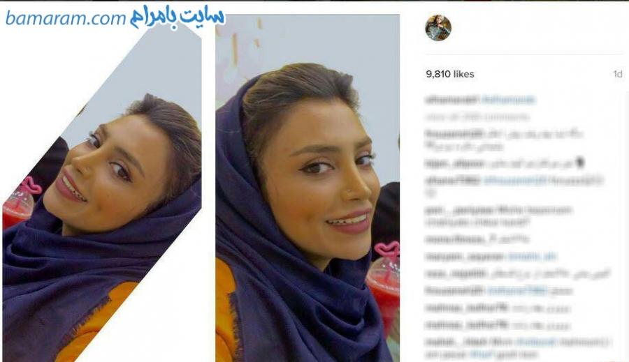 الهام عرب دستگیری دختر مدلینگ ایرانی