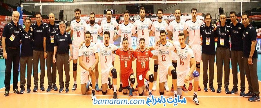والیبال تیم ملی  کادر فنی بازیکنان