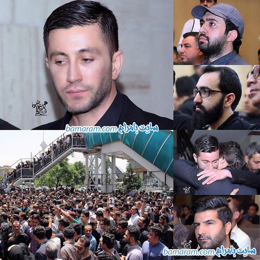 مراسم ختم حبیب  در تهران