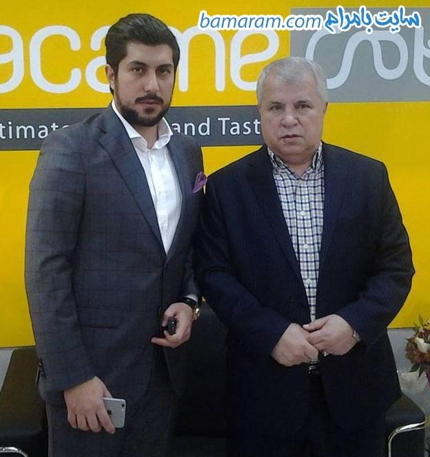 محمد پروین علی پروین و پسرش