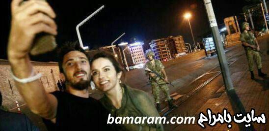 سلفی ارتش سرباز تانک