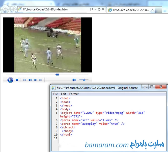 تگ های اچ تی ام ال html آموزش اچ تی ام ال