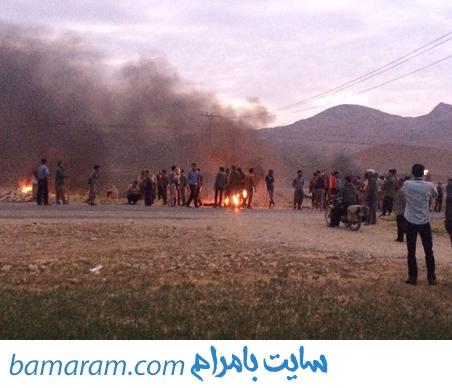 جنگ ضد و خورد خیابانی آتش سوزی