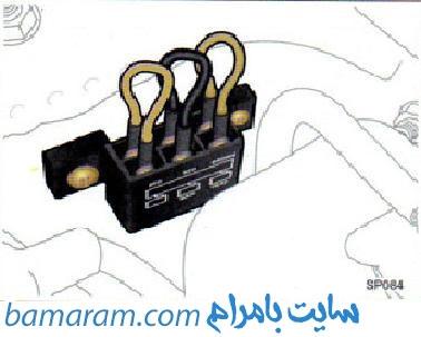 کاپوت ماشین برق ماشبن فیوز ماشین
